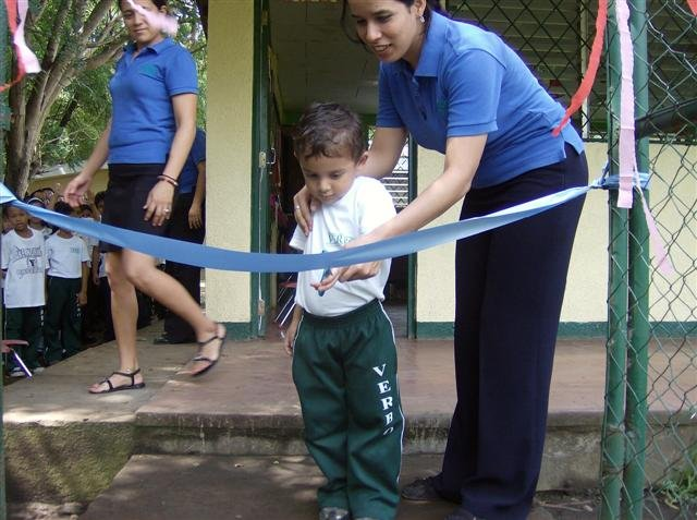 """Celebrating with an """"official"""" ribbon-cutting"""