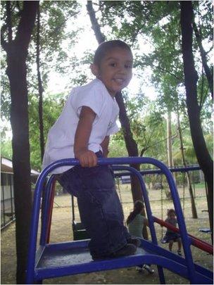 David - preschool student at Colegio Verbo Veracru
