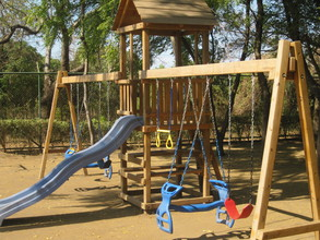 Playground Funded Through GlobalGiving Donations