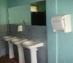New boys' bathroom!
