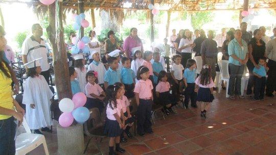 Preschool graduation day!