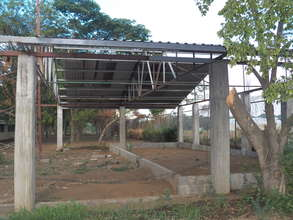 Back view of auditorium project