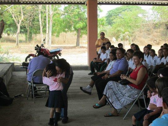 Directora Morales loves her children!