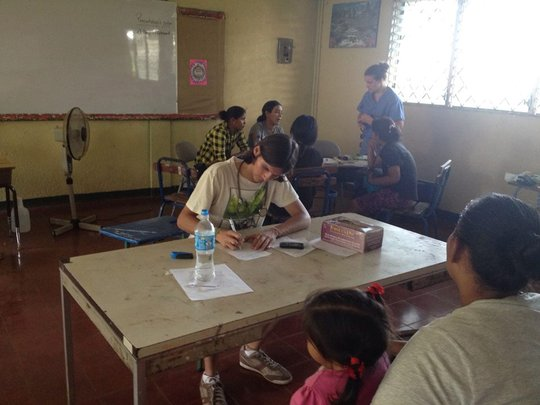 Serving with Nicaraguan physician Dr. Don Corea!