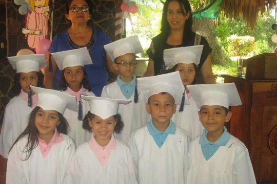 Kindergarten graduation!