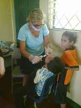 Nadeeda Morris - dental hygienist extraordinaire!
