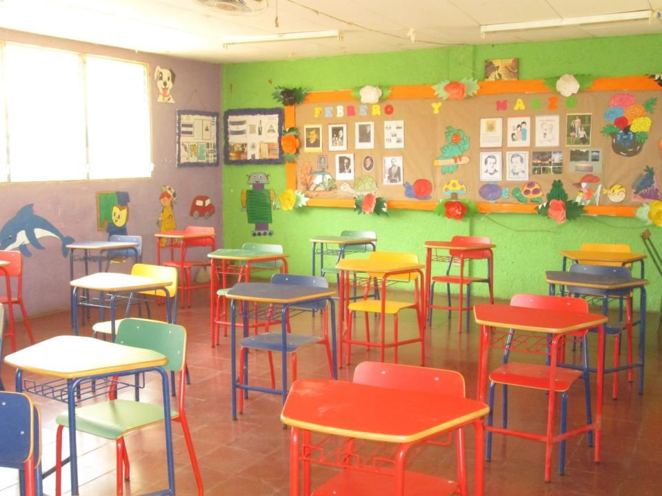 Bright fun new furniture for the preschoolers!