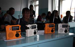 New radios in classroom
