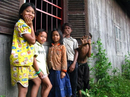 The kids of Koh Pdao