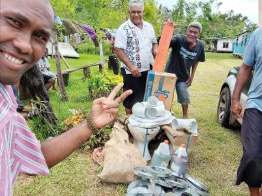 Help Fiji Hit by Climate-Change Fueled Cyclones