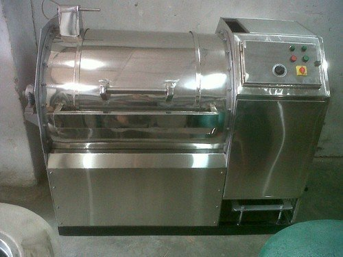 25 kg side loading washing machine