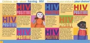 Children talk about having HIV