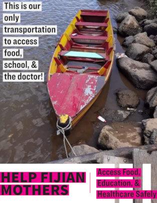 Help 195 Fijians Access Food & Education Safely!