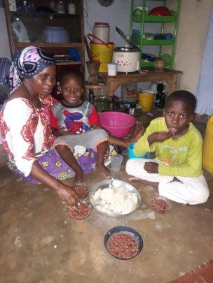 Feeding families in lockdown