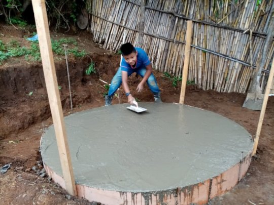 Making of the base