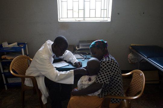 Examining child