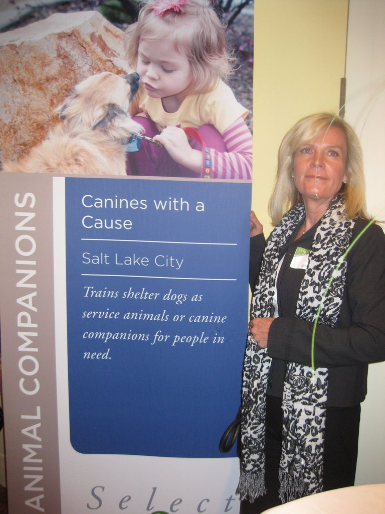 Cathy King at Select Health Luncheon