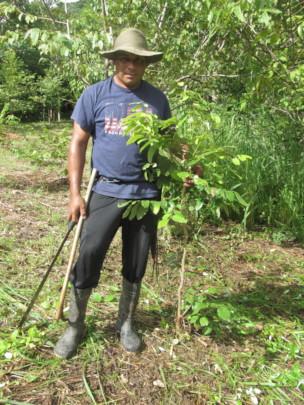 Local farmer in Nicaragua