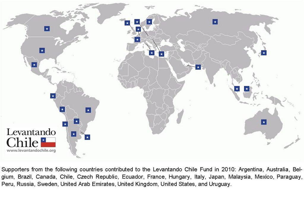 2010 Levantando Chile Fund Donors