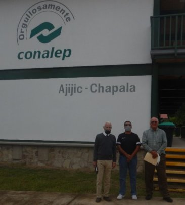 HHWT Board of Directors visit to Conalep Tech