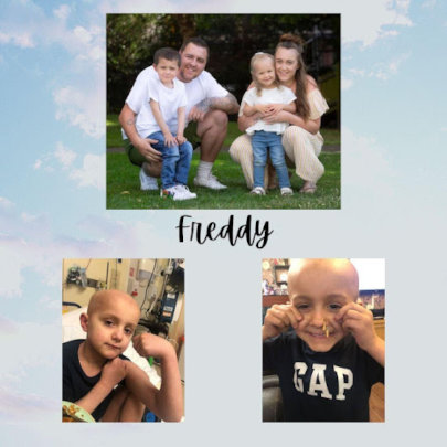 Freddy's tackle against Cancer