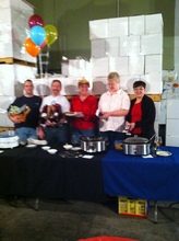 Soup Contest for Esther's at Hip Chicks do Wine