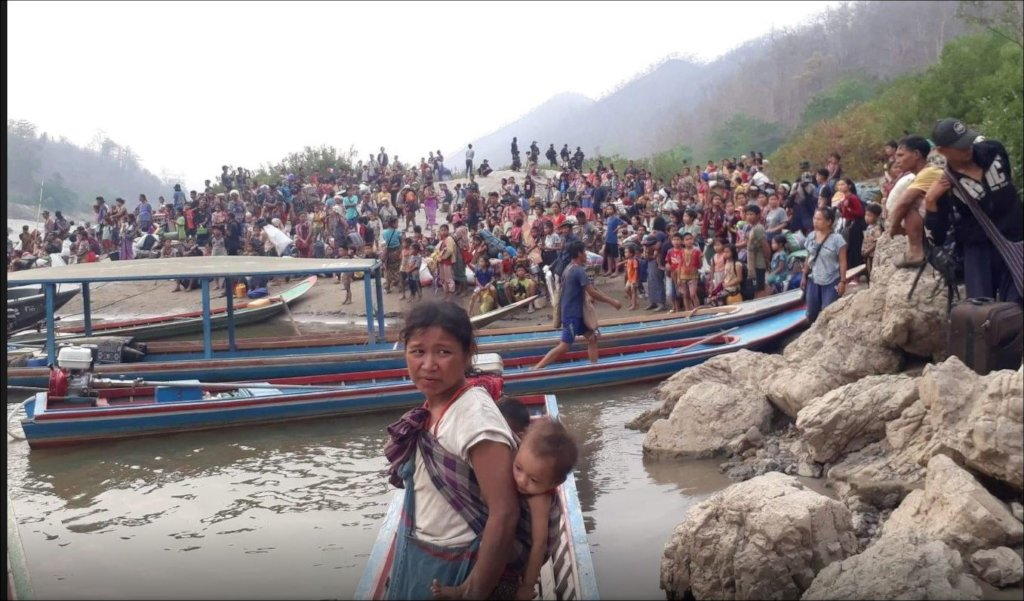 Fleeing Myanmar: healthcare for refugees