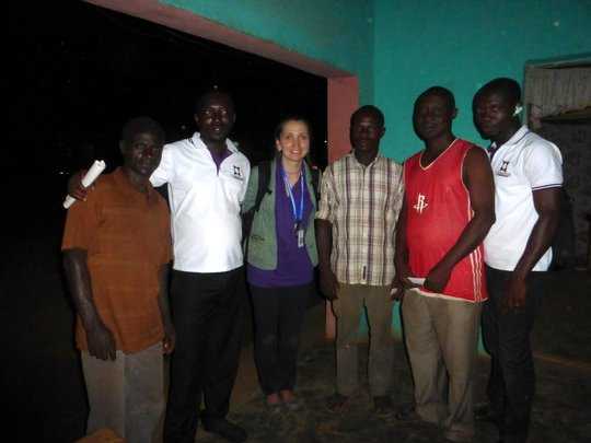 Dr. Anya Gushchin and organizing committee members