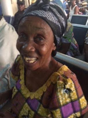 A happy patient in Ghana