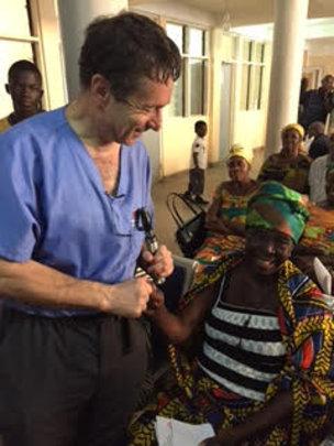 Post Op Patient with Dr. Tabin