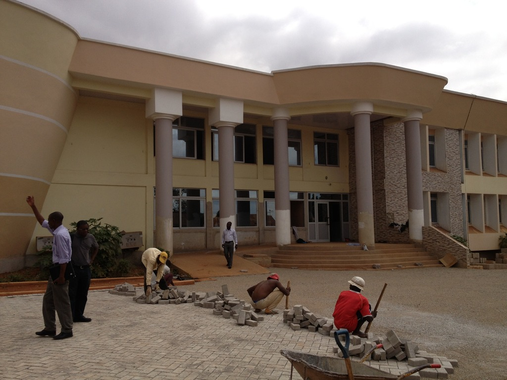 New Eye Clinic in Kumasi nearing completion