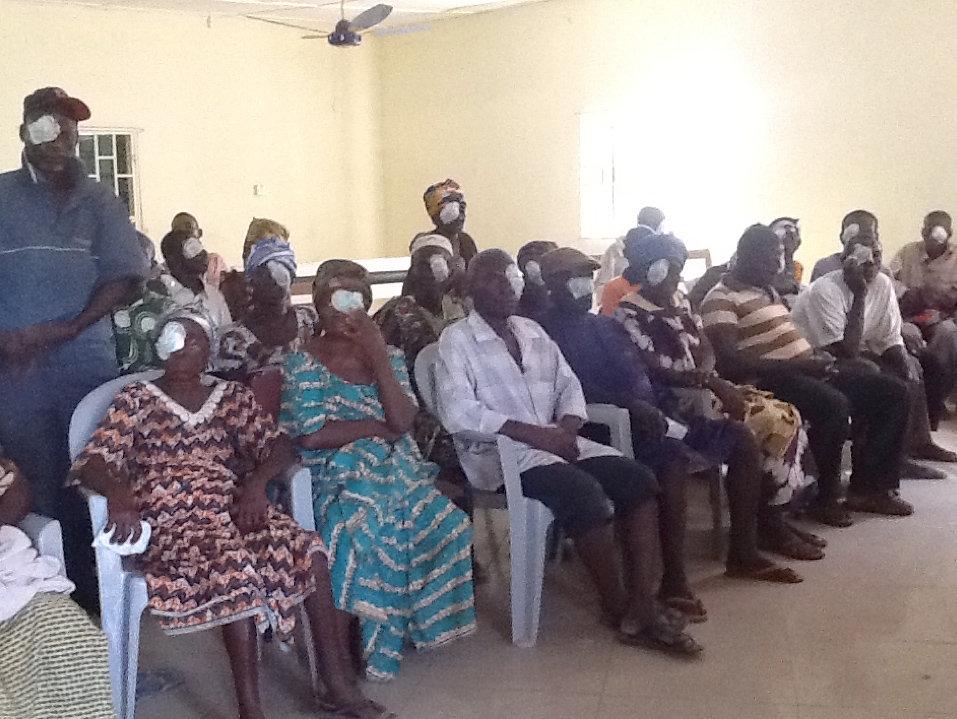 Patients in Kumasi