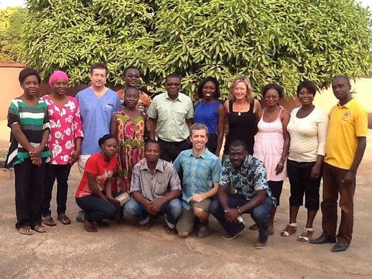 Ghanaian outreach team