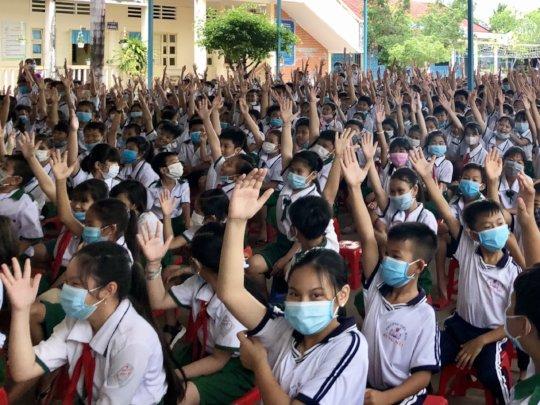 Health communications in Ca Mau