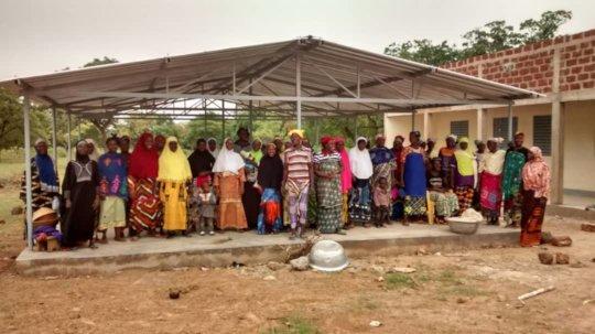 Women of Sipigui after an awareness meeting
