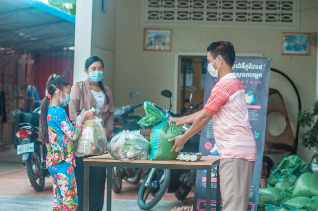 Provide Pandemic Relief For 100 Cambodian Families