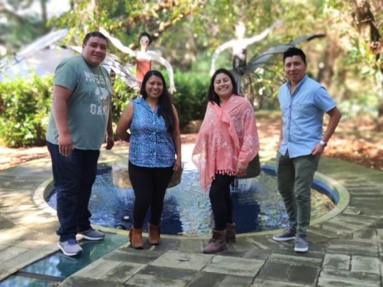 The Becas (Scholarships) Team