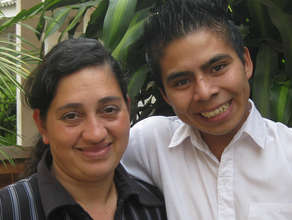 Carlos and Common Hope social worker Paola