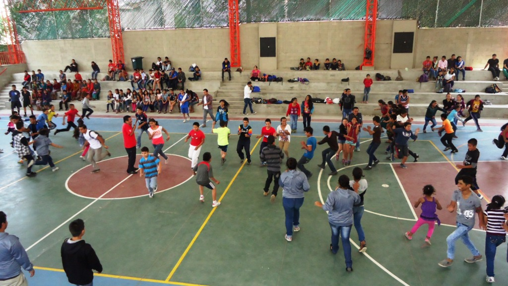 Fun and games at the Youth Summit