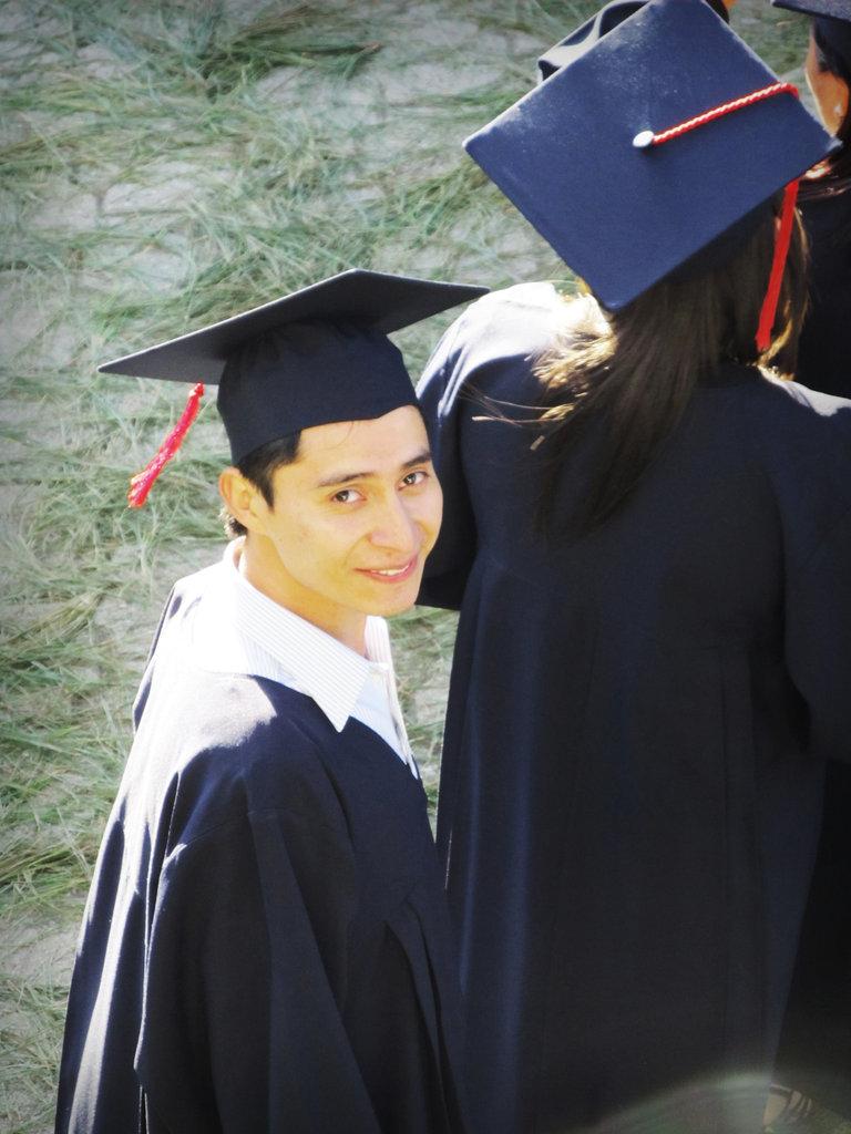 Nelson at Graduation