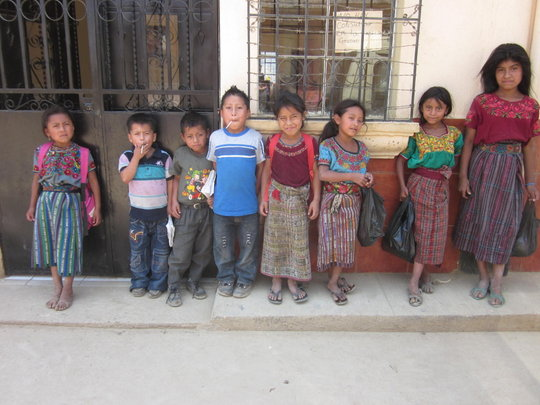 Youth in the indigenous community of San Rafael