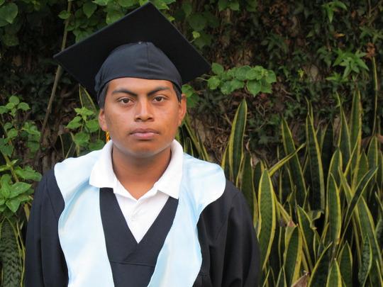 Luis at our graduation ceremony in Antigua