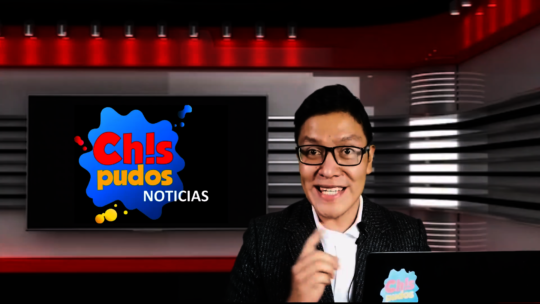 Angel the Chispudos Noticias News Anchor