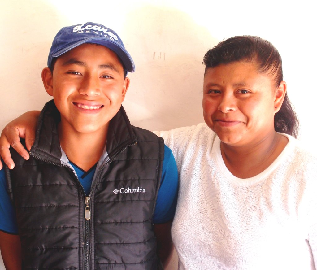 Jose and his mother Maria