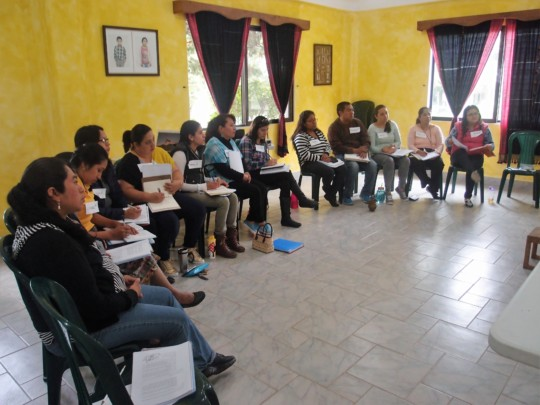 Common Hope social workers at the training