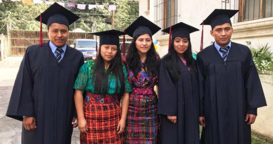 Graduates from San Rafael el Arado
