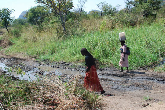 Dirty water source - Onura sub village