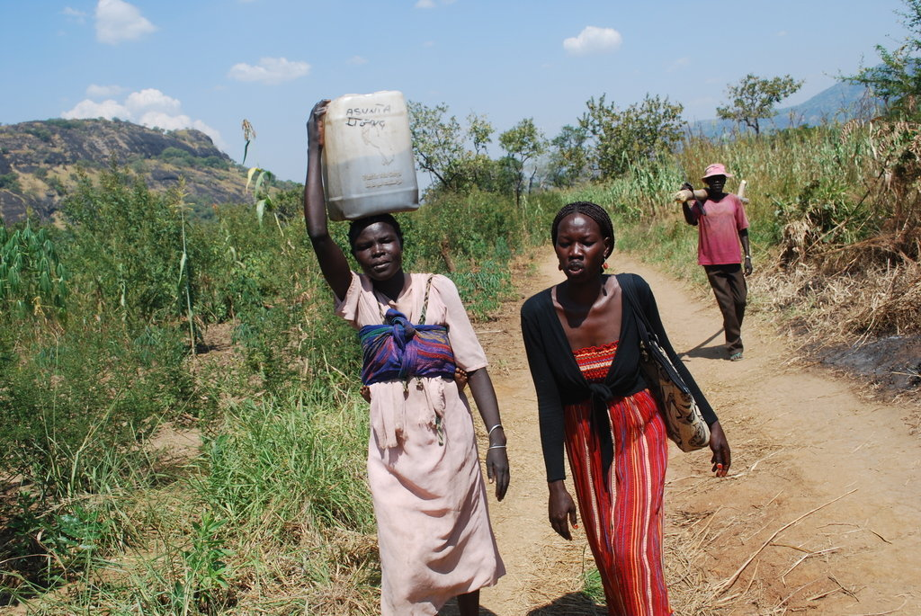 Give a Village Drinking Water in South Sudan