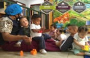New Home,  for parentless babies in Caracas.