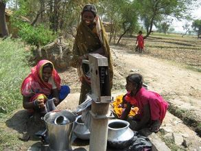 The Gift Of Water, A pump from People First